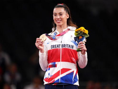 Bianca Walkden claimed a bronze medal (Mike Egerton/PA)