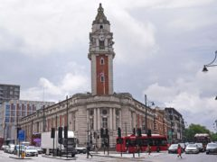 Lambeth Town Hall in south London, the home of Lambeth Council (PA)