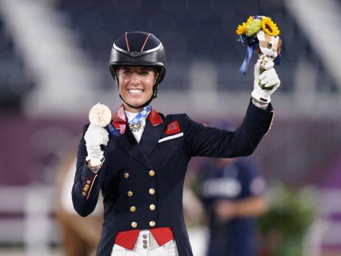 British Olympic medal record-breaker Charlotte Dujardin (Danny Lawson/PA)