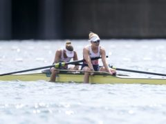 Comeback rower Helen Glover said she was proud to finish fourth with Polly Swann in the Olympic women's pairs final and eager to return home to see her children (Danny Lawson/PA)