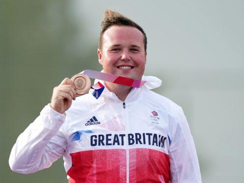 Matt Coward-Holley won shooting bronze for Great Britain in Tokyo (Mike Egerton/PA)