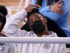 Simone Biles has ruled herself out of two individual finals (Mike Egerton/PA)
