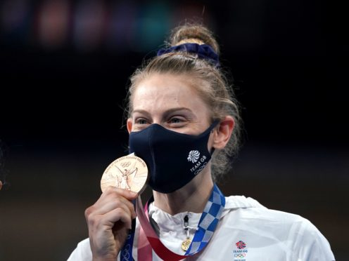 Bryony Page won her second consecutive Olympic medal (Mike Egerton/PA)