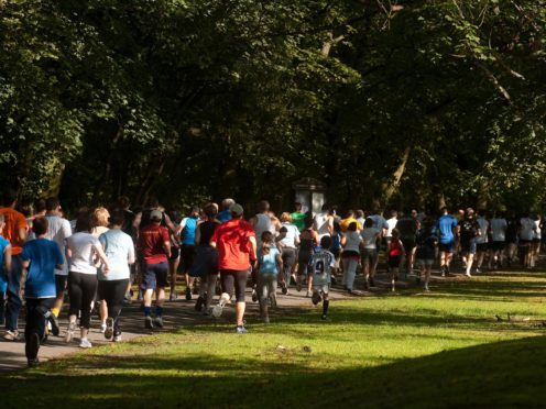 People will be returning to Parkrun events after lockdown restrictions eased in England (Gareth Copley/PA)
