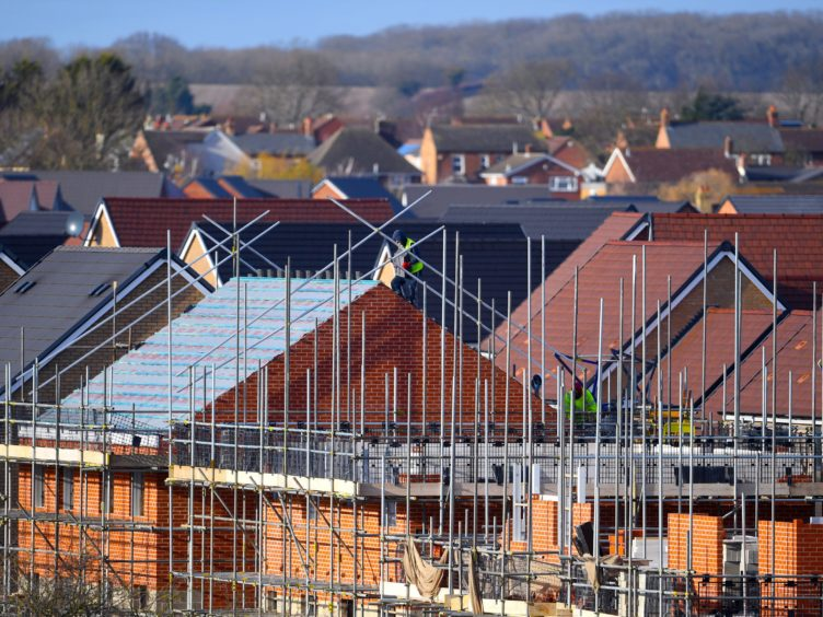 Figures show planning applications for major housing developments took on average more than a year to be determined (Joe Giddens/PA)