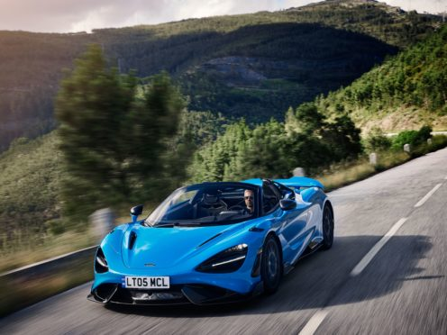 The 756LT Spider is the most powerful convertible from the firm