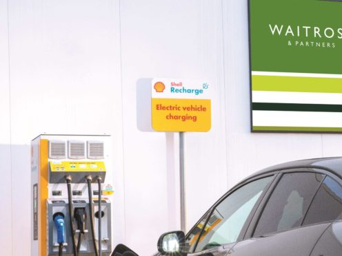 Up to 800 chargers will be installed at Waitrose stores across the country