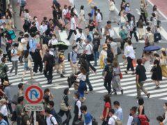 Tokyo is experiencing a surge in Covid-19 cases (Koji Sasahara/AP)