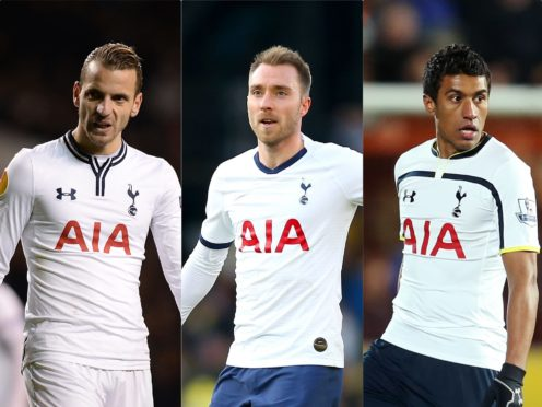 The players bought with money from the Gareth Bale sale had mixed fortunes at Spurs (PA)