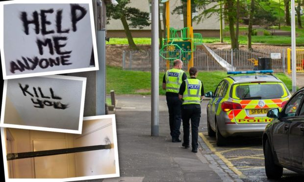Woman 'past breaking point' in Dundee multi forced to create makeshift lock to feel safe