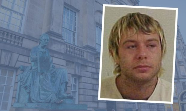 Fife spray painter jailed for raping woman as she slept