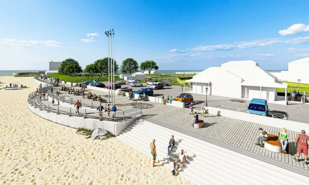 Design images reveal 'game-changing' upgrades to Broughty Ferry Esplanade to Monifieth
