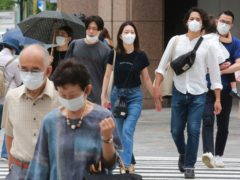 Tokyo has reported its highest daily number of new coronavirus infections, days after the Olympic Games began (Koji Sasahara/AP)