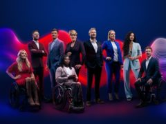 Sophie Morgan, JJ Chalmers, Ed Jackson, Ade Adepitan, Clare Balding, Adam Hills, Steph McGovern, Vick Hope And Arthur Williams (Channel 4)