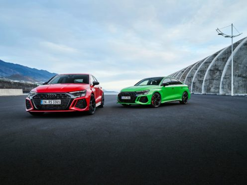 The new RS3 brings faster acceleration than before