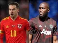 Aaron Ramsey/ Romelu Lukaku are both being linked with moves (Nick Potts/ Martin Rickett/ PA)