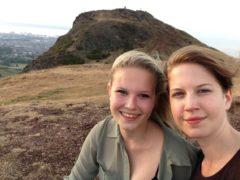 Alix Dietzel, right, and her sister Rosa (Alix Dietzel)