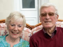 June and Jim Machin have committed their lives to fundraising for the British Heart Foundation (Family handout/PA)