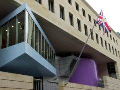 The British embassy in Berlin (Fiona Hanson/PA)