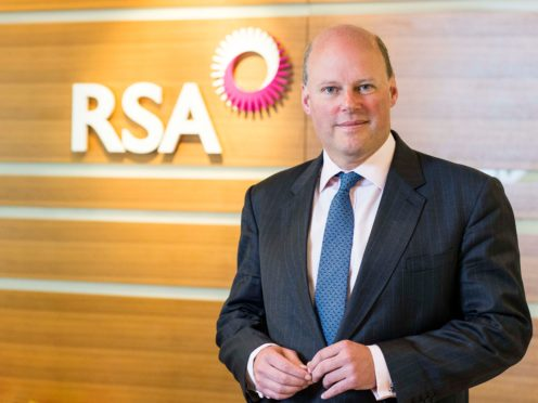 Stephen Hester led RSA when it was sold earlier this year (RSA/PA)