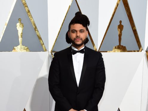 The Weeknd says he no longer cares about being snubbed by the Grammy's (PA)