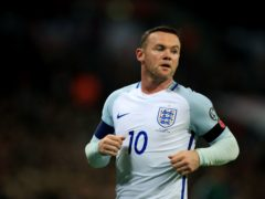 Wayne Rooney called time on his international career having scored a record 53 goals in 119 England appearances (Mike Egerton/PA).