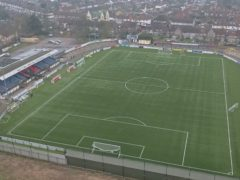 Sutton host Oldham at Gander Green Lane (Steve Parsons/PA)
