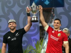 The British and Irish Lions and New Zealand drew the series last time out (David Davies/PA)