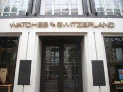 Watches of Switzerland has seen sales soar (Yui Mok/PA)