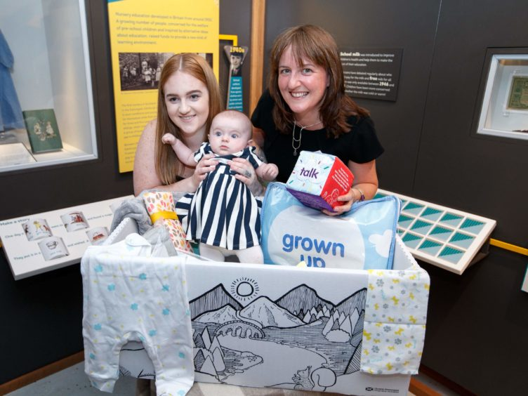 The baby box scheme was launched four years ago (Robert Perry/PA)