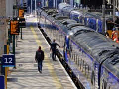 Unions have urged Nicola Sturgeon to commit to the future of rail in Scotland (Jane Barlow/PA)