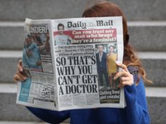 The newspapers are currently part of the Daily Mail and General Trust (Jonathan Brady/PA)