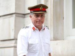 Chief of the Defence Staff General Sir Nick Carter (Yui Mok/PA)