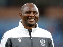 Patrick Vieira is ready for the pressure managing in the Premier League will bring (Martin Rickett/PA)