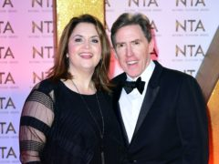 Ruth Jones and Rob Brydon (Ian West/PA)