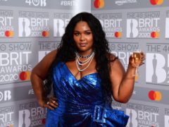 Lizzo has revealed Cardi B will feature on her new track Rumours (Ian West/PA)