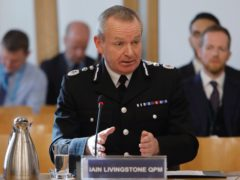 Chief Constable Iain Livingstone spoke about the 'heart-breaking tragedies' of the seven water-related deaths at the end of July (Andrew Cowan/PA)