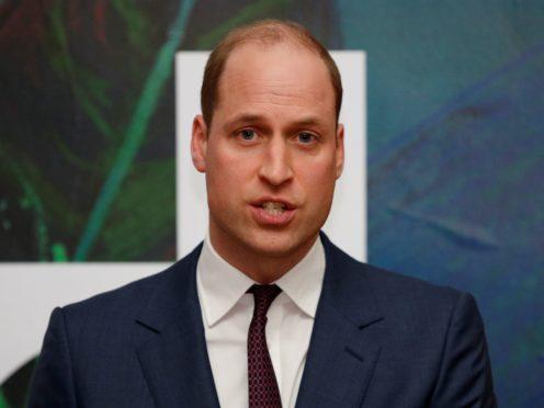 The Duke of Cambridge (Phil Noble/PA)