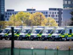 The number of the most serious ambulance cases waiting more than 10 minutes has more than doubled in the last three years (Jane Barlow/PA)