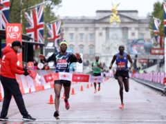 In 2020, Shura Kitata won the men's elite race, which was run around laps of St James' Park (Richard Heathcoate/PA)