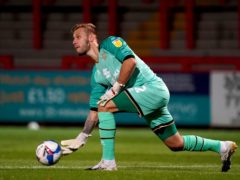 Laurie Walker is likely to remain between the sticks for struggling Oldham (John Walton/PA)