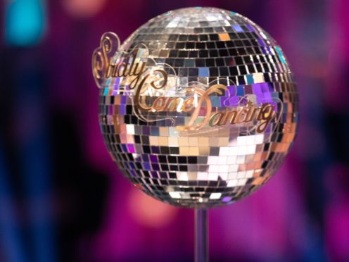 The Strictly glitterball trophy is up for grabs again (Guy Levy/BBC/PA)