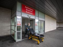 Scotland has recorded the lowest percentage of A&E patients seen within the four-hour target since records began (Peter Byrne/PA)