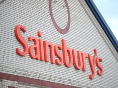 Sainsbury's has seen its shares jump after reports that it is being eyed by private equity firm Apollo (Dany Lawson/PA)
