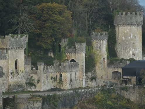 Gwrych Castle will be the setting for I'm A Celebrity again (Jacob King/PA)