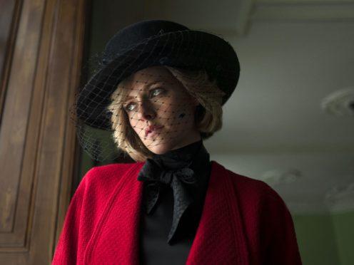 Kristen Stewart as Princess Diana in the film Spencer (Neon/Topic Studios)