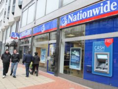 Nationwide Building Society is launching a new switching incentive (Paul Faith/PA)