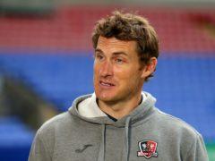 Matt Taylor was pleased his team dug in (Tim Markland/PA)