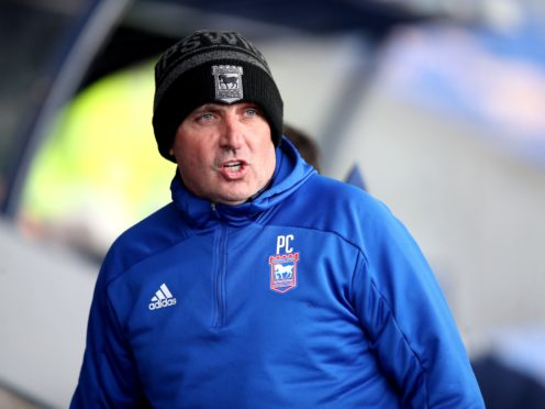 Paul Cook felt Ipswich should have been home and dry (Nick Potts/PA)