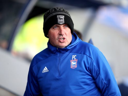 Paul Cook's Ipswich were defeated by Cheltenham (Nick Potts/PA)